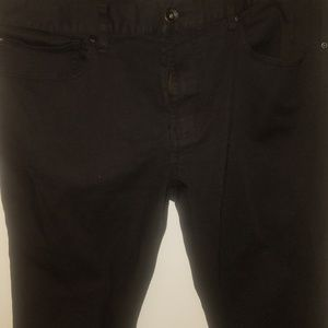 hot topic xxx rude Pants - Women black pants New NEVER WORN